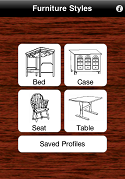 Furniture Styles Phone Screenshot